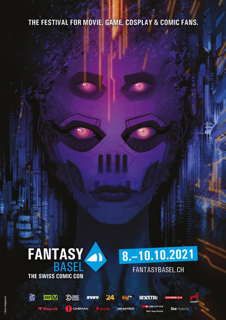 Fantasy Basel 2021 Plakat