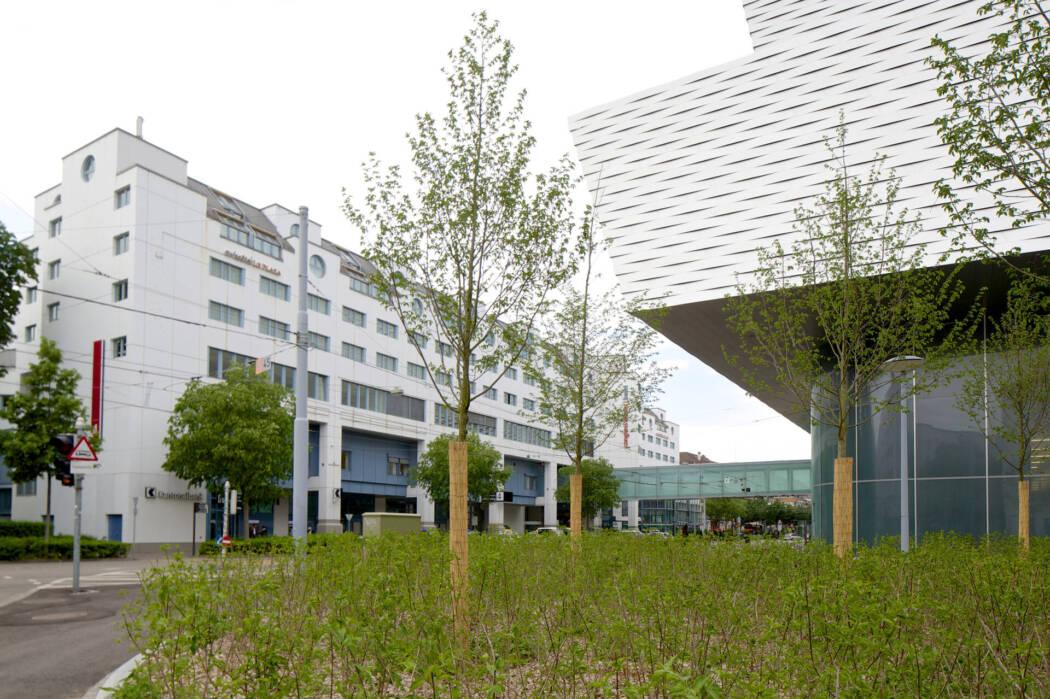 Congress Center Basel Aussenansicht