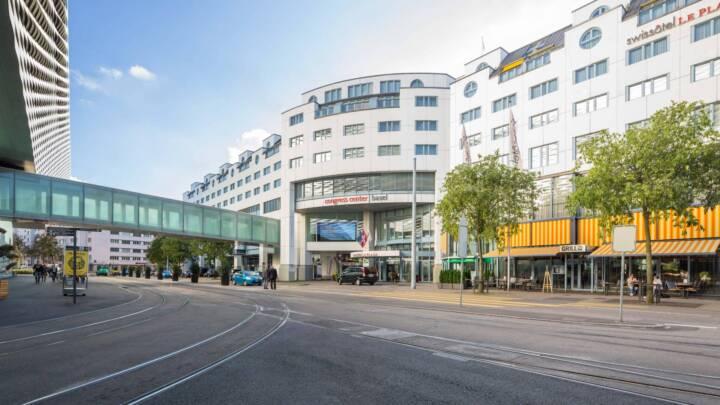 Congress Center Basel Exterior View
