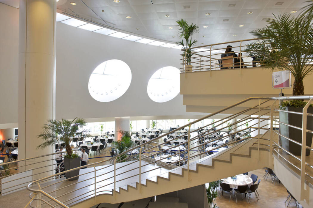 Congress Center Basel Foyer 3. Stock