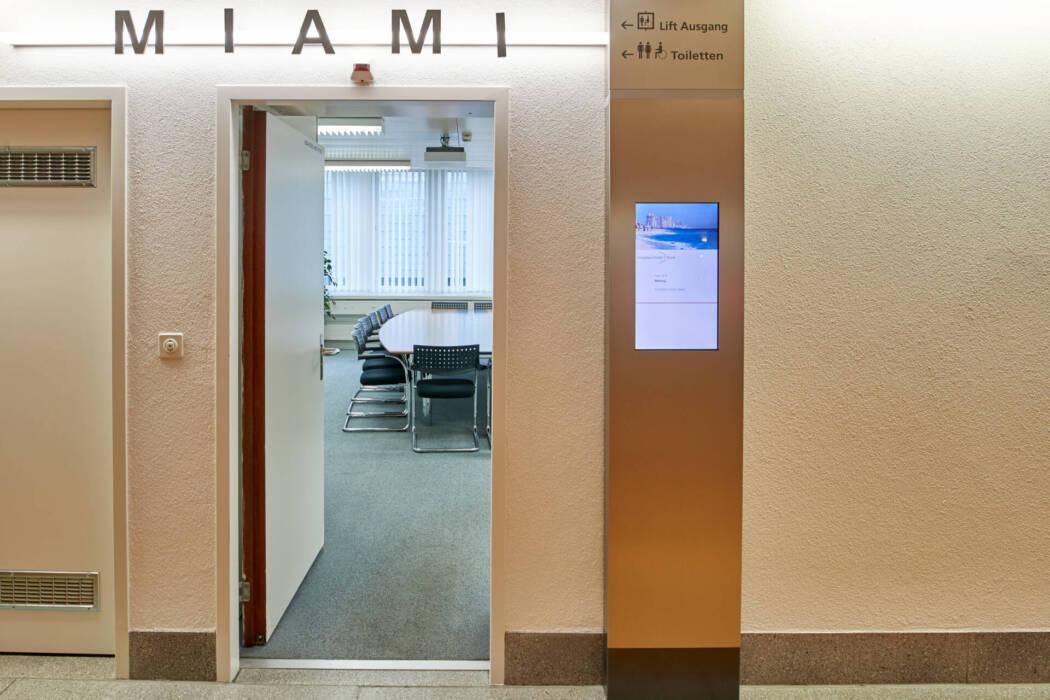 Congress Center Basel Raum Miami