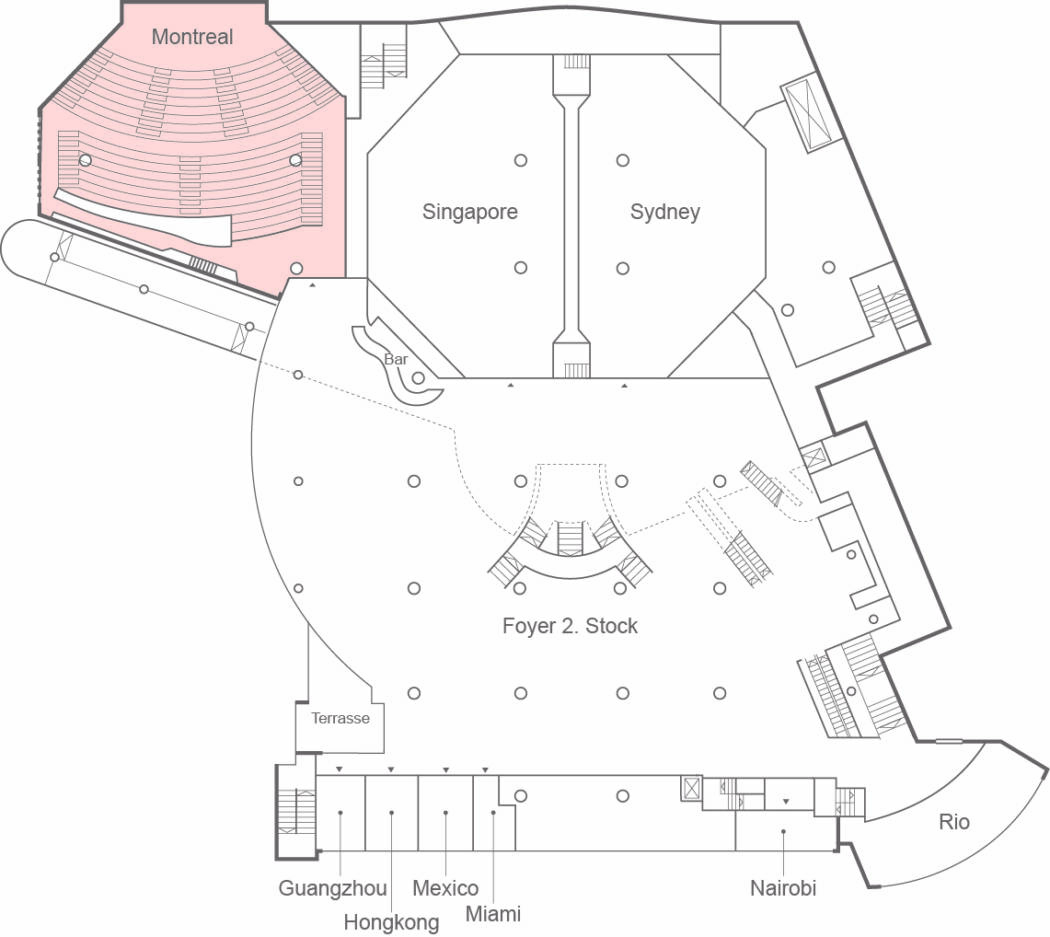 Congress Center Basel Montreal Auditorium