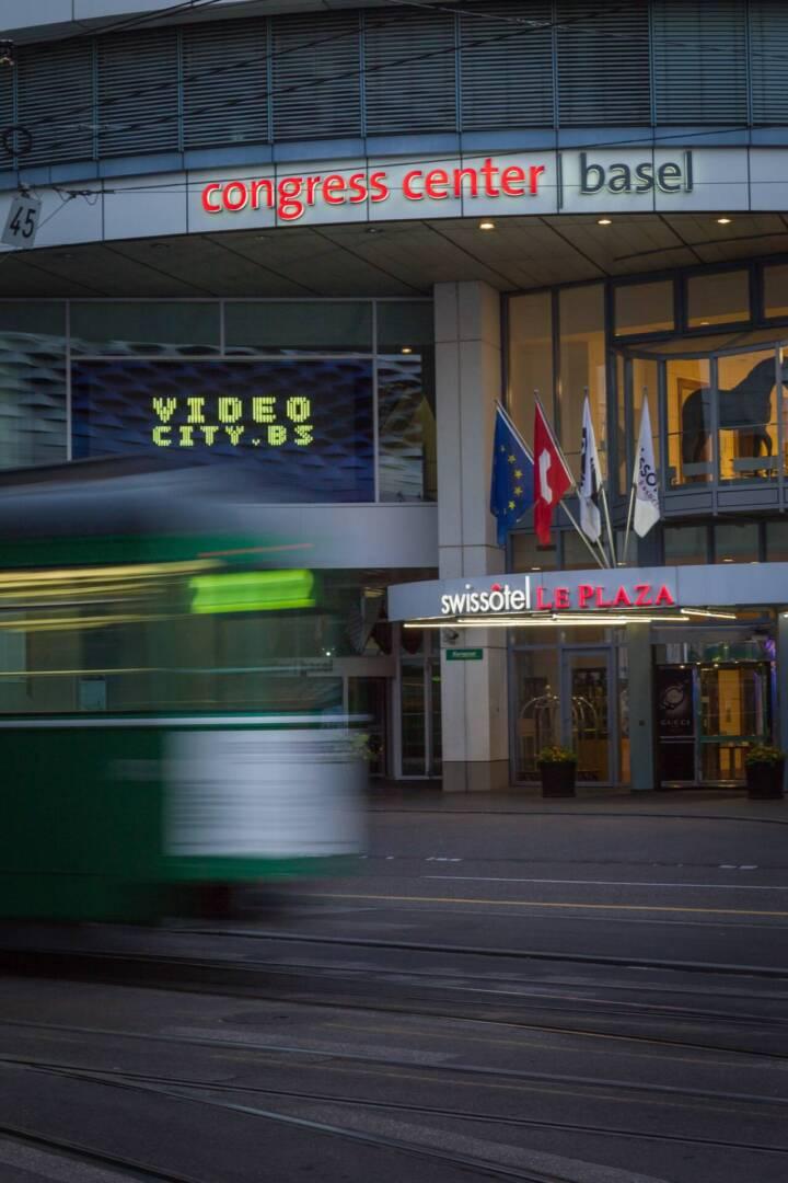 Congress Center Basel videocity.bs Coast to Coast
