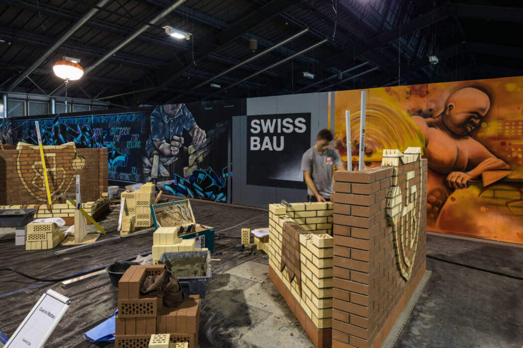 Messe Basel Halle 3 Swissbau 2018
