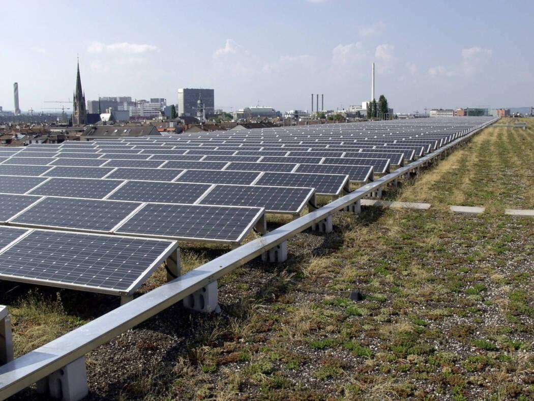 Messe Basel Nachhaltigkeit Solaranlage
