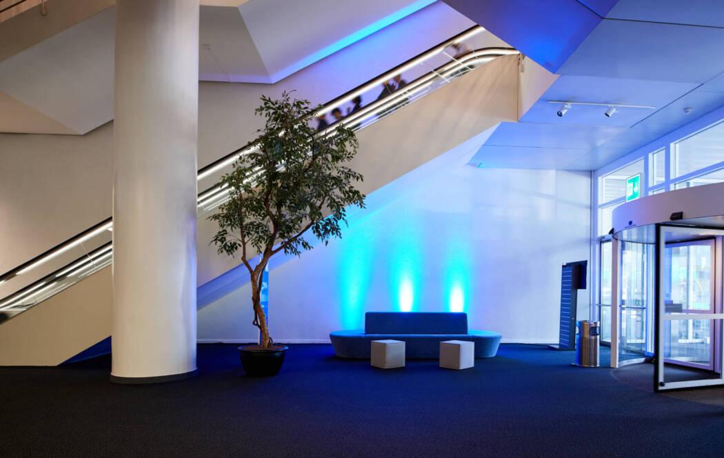 Congress Center Basel Eingangsbereich