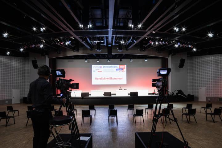 Congress Center Basel hybride Events DGHO