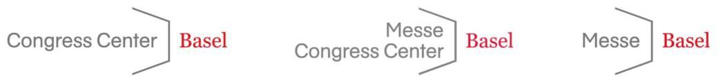 Messe Basel und Congress Center Basel Logos